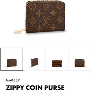 Authtic LV Zippy Coin Purse